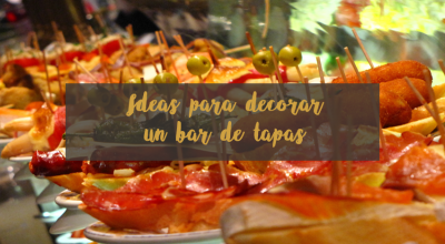 cómo decorar un bar de tapas